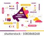 vector creative color... | Shutterstock .eps vector #1083868268