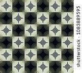 seamless geometric pattern...   Shutterstock . vector #1083889595