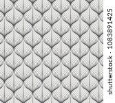 linear vector pattern ... | Shutterstock .eps vector #1083891425