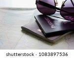 usa passport    stock image...