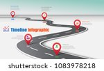 business road map timeline... | Shutterstock .eps vector #1083978218
