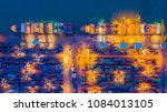 container terminal container... | Shutterstock . vector #1084013105