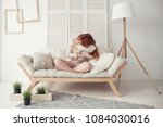 waking up in the morning is... | Shutterstock . vector #1084030016