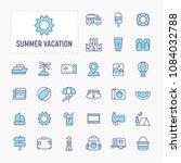 summer vacation and beach  ...   Shutterstock .eps vector #1084032788