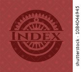 index retro style red emblem | Shutterstock .eps vector #1084046945