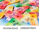 collection of the new swiss... | Shutterstock . vector #1084047845