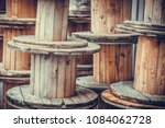 close up shot of some big empty ... | Shutterstock . vector #1084062728