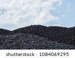Pile Of Black Coal Pieces