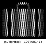 dot white baggage icon on a... | Shutterstock .eps vector #1084081415