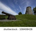 Remnants Of An Old Mill And A...