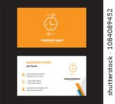 history business card design...
