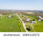 aerial of farmland in fawn... | Shutterstock . vector #1084110272