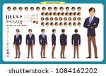people character business set.... | Shutterstock .eps vector #1084162202