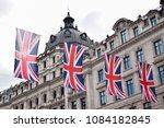 london preparing for the royal... | Shutterstock . vector #1084182845