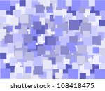abstract blue squares background | Shutterstock .eps vector #108418475