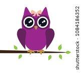vector illustration of cute... | Shutterstock .eps vector #1084186352