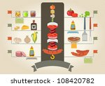 Vector Set Of Various Food...