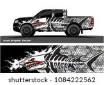 angry shark face vector decal... | Shutterstock .eps vector #1084222562