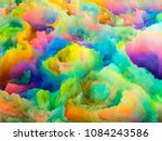 3d illustration of colorful... | Shutterstock . vector #1084243586