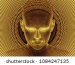 radiating mind series. 3d... | Shutterstock . vector #1084247135