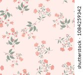 orient seamless floral pattern. ... | Shutterstock .eps vector #1084259342