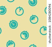 seamless pattern with stopwatch ... | Shutterstock .eps vector #1084280096