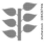 pixel black flora plant icon....   Shutterstock .eps vector #1084287446