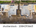 early stages of construction ... | Shutterstock . vector #1084293665