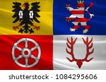 flag of unstrut hainich is a... | Shutterstock . vector #1084295606
