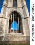 Small photo of Tower and spire of the ruined church of Saint Andrews also known as the Glovers Needle, Worcester, Worcestershire, UK