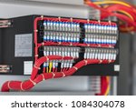 electrical switch panel of... | Shutterstock . vector #1084304078