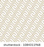 geometric seamless pattern with ... | Shutterstock .eps vector #1084311968