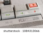 dusty music control  play ... | Shutterstock . vector #1084313066
