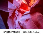 famous antelope canyon near... | Shutterstock . vector #1084314662