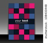 flyer or cover design | Shutterstock .eps vector #108433448
