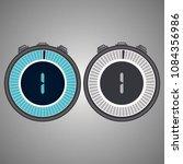 electronic digital stopwatch... | Shutterstock .eps vector #1084356986