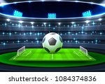 football championship cup ... | Shutterstock .eps vector #1084374836