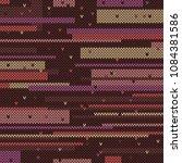 knitted background illustration | Shutterstock .eps vector #1084381586
