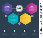 business presentation or info...   Shutterstock .eps vector #1084385012