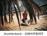 sexy couple. passionate couple... | Shutterstock . vector #1084398005