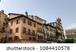 florence building structure. | Shutterstock . vector #1084410578
