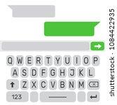 mobile ui kit chat messenger....