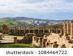 djemila  the archaeological...   Shutterstock . vector #1084464722