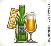 vector illustration of alcohol... | Shutterstock .eps vector #1084499975