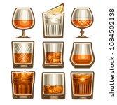 vector set of different... | Shutterstock .eps vector #1084502138