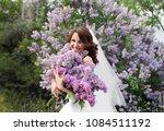 the european beautiful bride...   Shutterstock . vector #1084511192