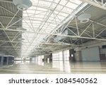huge bright empty warehouse is... | Shutterstock . vector #1084540562
