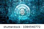 global network security concept.... | Shutterstock . vector #1084540772