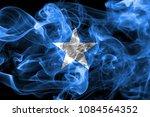 somalia smoke flag | Shutterstock . vector #1084564352