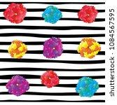 white black stripe pattern... | Shutterstock .eps vector #1084567595